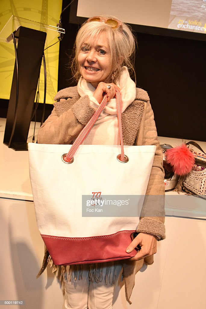 Sophie Grimaud attends the '727 Sailbags' Auction in Benefit to 'Les Toiles Enchantees' Children Care Association To Promotes Cinema screening in...