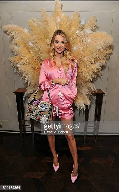 Sophie Hermann attends 5 Years of Gazelli SkinCare on November 10 2016 in London England