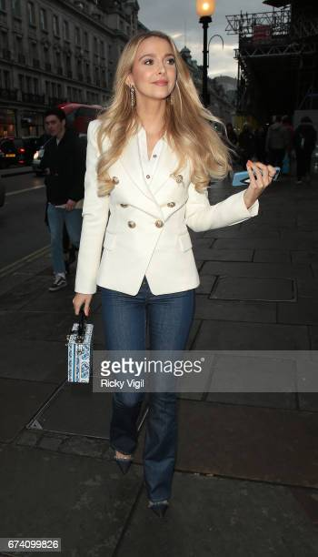 Sophie Hermann attends Folli Follie #BeSpringReady party on April 27 2017 in London England