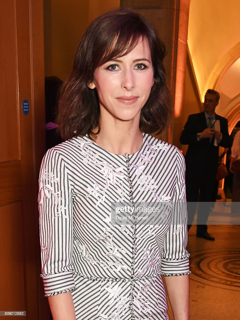Sophie Hunter attends a private view of 'Vogue 100: A Century of Style' hosted by Alexandra Shulman and Leon Max at the National Portrait Gallery on February 9, 2016 in London, England.