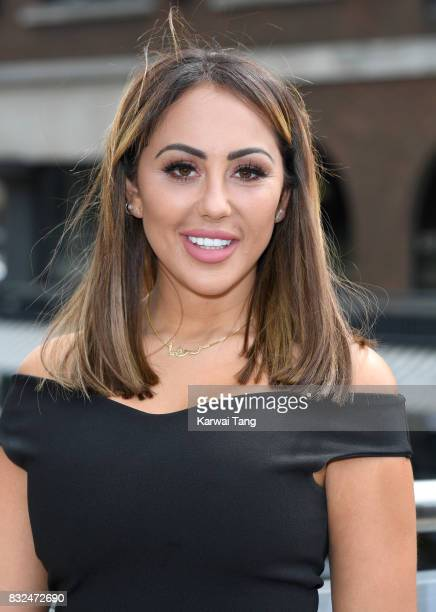 Sophie Kasaei attends the Geordie Shore series 15 'Shag Pad on Tour ' cast launch at Tower Bridge on August 16 2017 in London England