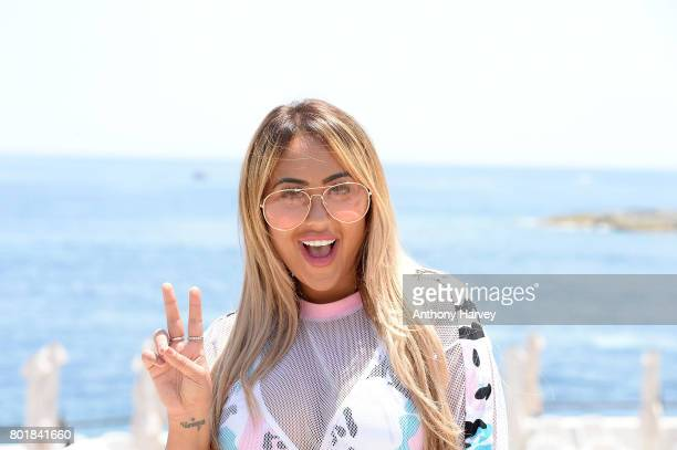 Sophie Kasaei attends the press conference ahead of the annual Isle of MTV Malta event at Radisson Blu Hotel on June 27 2017 in St Julian's Malta