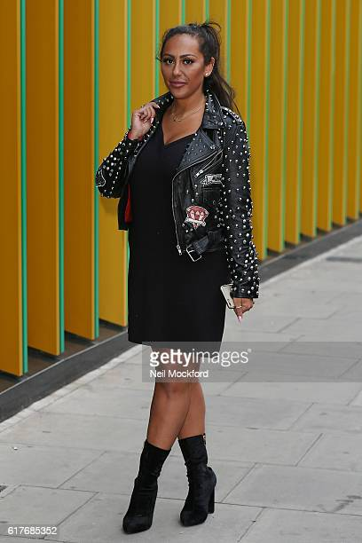 Sophie Kasaei from Geordie Shore launch Series 13 at MTV London on October 24 2016 in London England