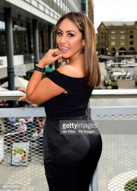 Sophie Kasaei from the cast of Geordie Shore attending the photocall to launch series 15 of the show in London