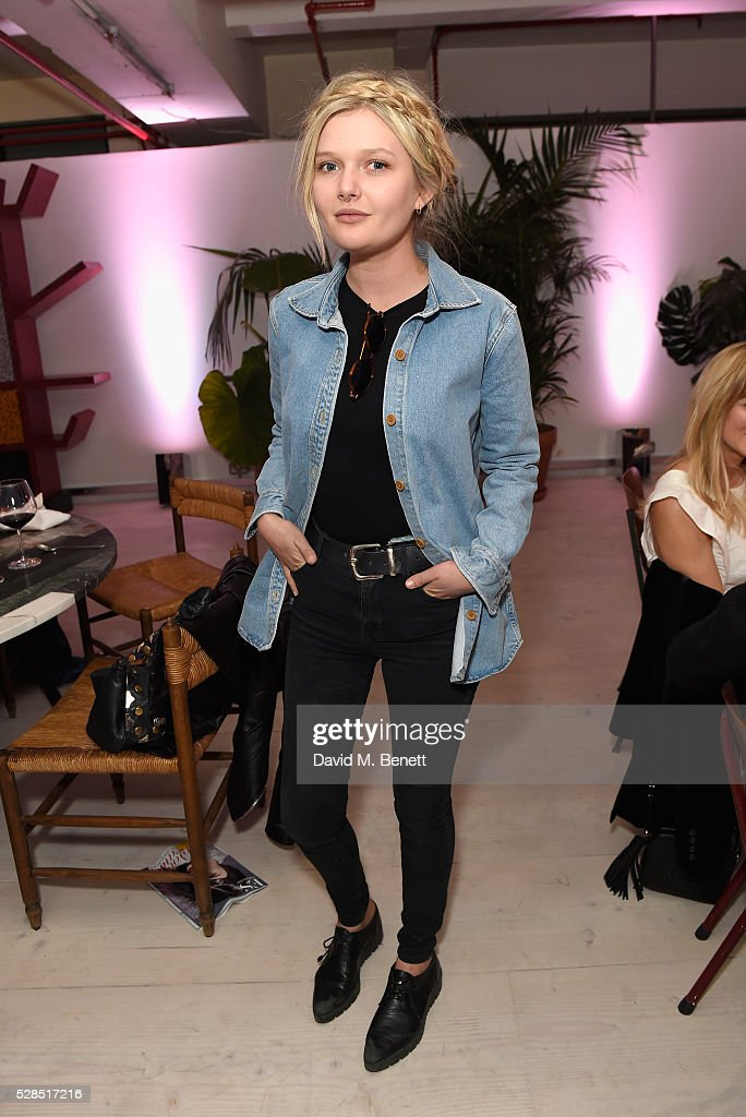 Sophie Kennedy Clark attends a private dinner hosted by M.i.h Jeans to celebrate their 10th anniversary at Brewer Street Car Park on May 5, 2016 in London, England.