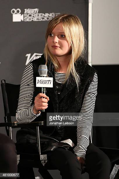 Sophie Kennedy Clark attends the 2013 Variety Screening Series Presents 'Philomena' at ArcLight Hollywood on November 20 2013 in Hollywood California