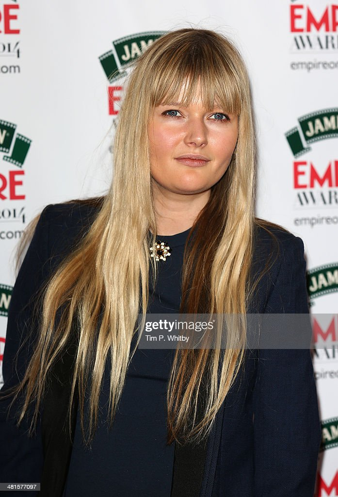 Sophie Kennedy Clark attends the Jameson Empire Awards 2014 at the Grosvenor House Hotel on March 30, 2014 in London, England. Regarded as a relaxed end to the awards show season, the Jameson Empire Awards celebrate the film industry's success stories of the year with winners being voted for entirely by members of the public. Visit empireonline.com/awards2014 for more information.