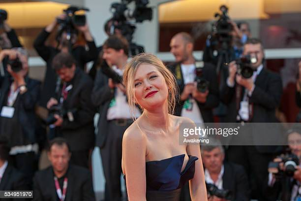Sophie Kennedy Clark on the red carpet for 'Philomena' during the 70th Venice International Film Festival