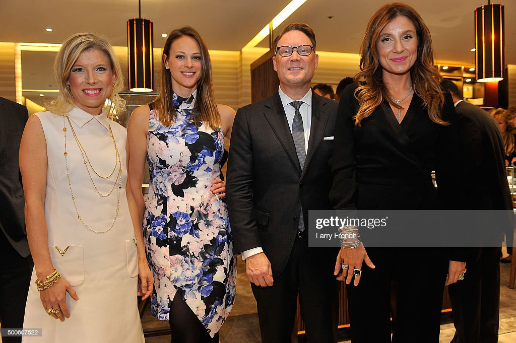Katherine Berman And Sophie LaMontagne Host The Grand Opening Of The David Yurman Boutique At CityCenter DC Benefitting The Hope For Henry Foundation
