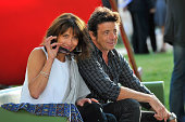 Sophie Marceau and Patrick Bruel attend the Opening Ceremony for the 7th Angouleme FrenchSpeaking Film Festival at Hotel Mercure on August 22 2014 in...