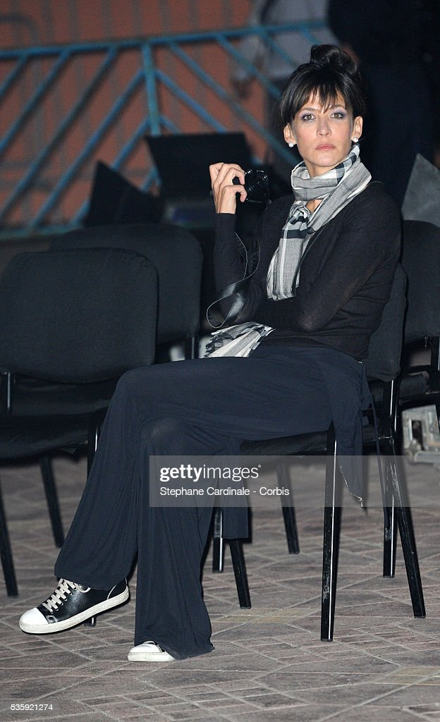 Sophie Marceau attends the Christophe Lambert Night , at place Jemaa El Fna during the10th Marrakech Film Festival, in Marrakech.