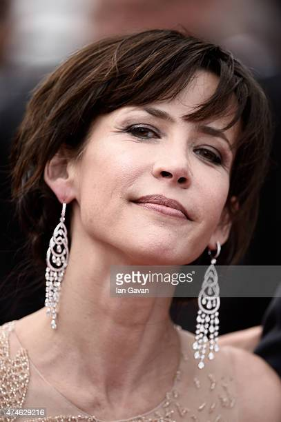 Sophie Marceau attends the closing ceremony and Premiere of 'La Glace Et Le Ciel' during the 68th annual Cannes Film Festival on May 24 2015 in...