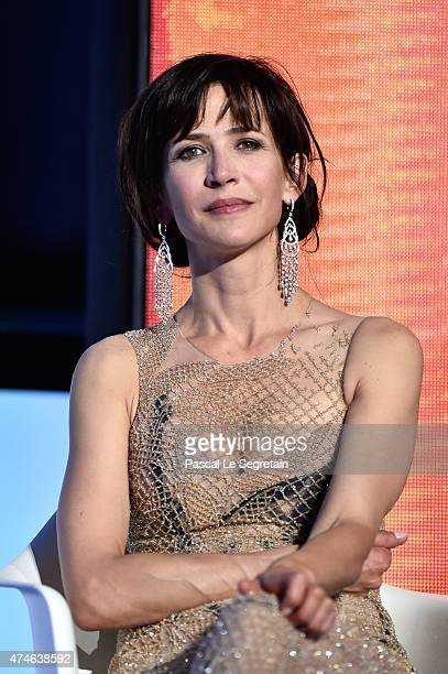 Sophie Marceau attends the closing ceremony during the 68th annual Cannes Film Festival on May 24 2015 in Cannes France