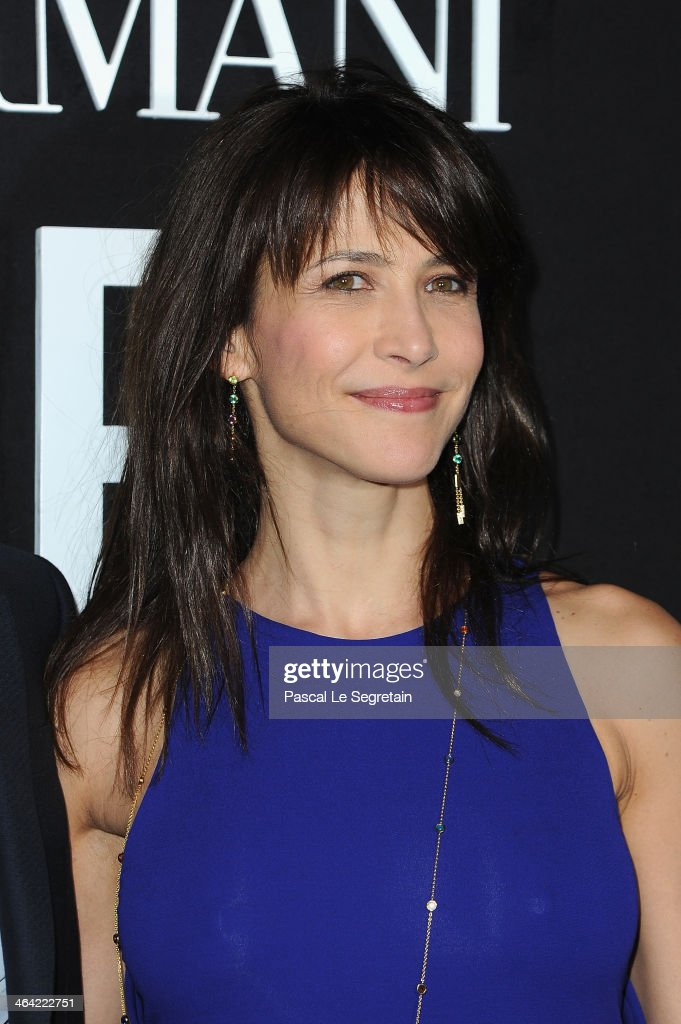 <a gi-track='captionPersonalityLinkClicked' href=/galleries/search?phrase=Sophie+Marceau&family=editorial&specificpeople=220531 ng-click='$event.stopPropagation()'>Sophie Marceau</a> attends the Giorgio Armani Prive show as part of Paris Fashion Week Haute Couture Spring/Summer 2014 on January 21, 2014 in Paris, France.
