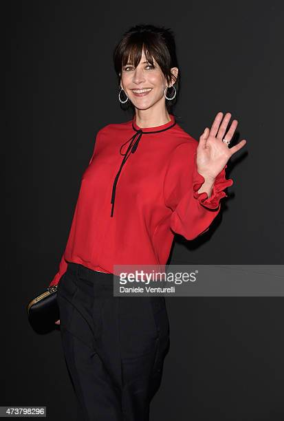 Sophie Marceau attends the Kering Official Cannes Dinner at Place de la Castre on May 17 2015 in Cannes France