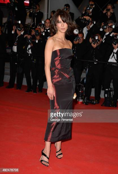 Sophie Marceau attends the 'Lost River' Premiere at the 67th Annual Cannes Film Festival on May 20 2014 in Cannes France