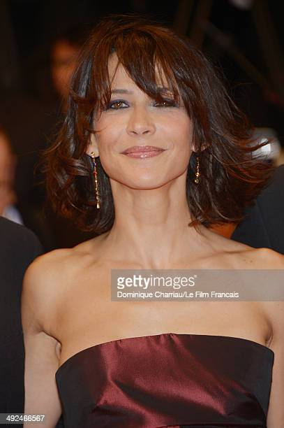 Sophie Marceau attends the 'Lost River' Premiere during the 67th Annual Cannes Film Festival on May 20 2014 in Cannes France