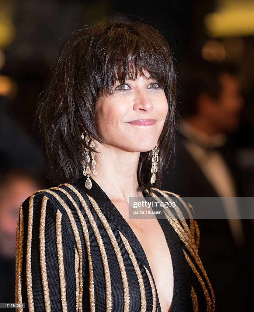 <a gi-track='captionPersonalityLinkClicked' href=/galleries/search?phrase=Sophie+Marceau&family=editorial&specificpeople=220531 ng-click='$event.stopPropagation()'>Sophie Marceau</a> attends the 'Nie Yinniang' ('The Assassin') Premiere during the 68th annual Cannes Film Festival on May 21, 2015 in Cannes, France.