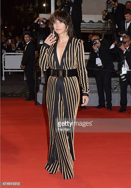 Sophie Marceau attends the Premiere of 'Nie Yinniang' during the 68th annual Cannes Film Festival on May 21 2015 in Cannes France