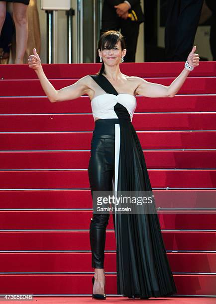 Sophie Marceau attends 'The Sea Of Trees' Premiere during the 68th annual Cannes Film Festival on May 16 2015 in Cannes France