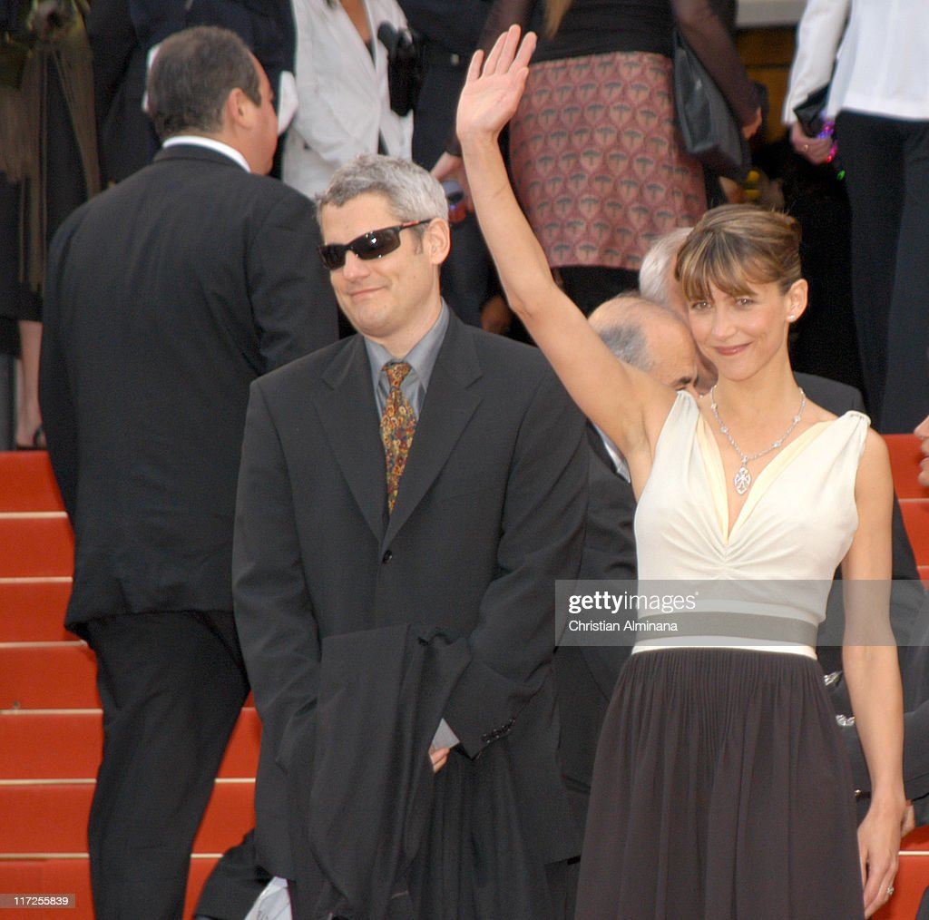 <a gi-track='captionPersonalityLinkClicked' href=/galleries/search?phrase=Sophie+Marceau&family=editorial&specificpeople=220531 ng-click='$event.stopPropagation()'>Sophie Marceau</a> (R) during 2005 Cannes Film Festival - Where the Truth Lies Premiere at Palais des Festival in Cannes, France.