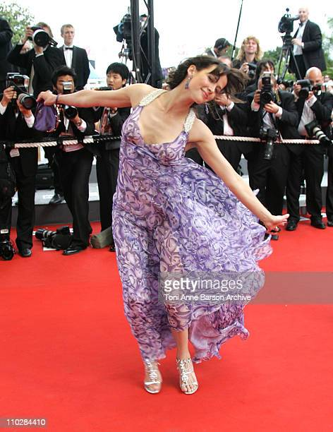 Sophie Marceau during 2006 Cannes Film Festival 'Selon Charlie' Premiere at Palais du Festival in Cannes France
