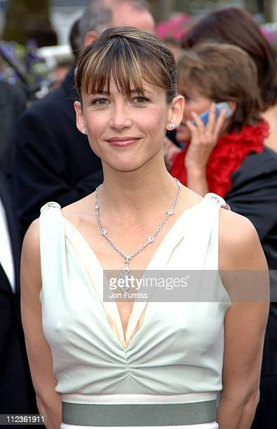 Sophie Marceau during Cannes 2005 Film Festival 'Where The Truth Lies' Premiere at Palais Du Festival in Cannes France