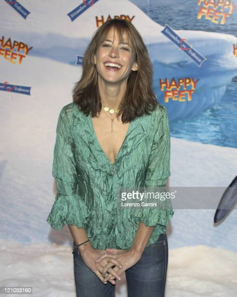 Sophie Marceau during 'Happy Feet ' Paris Photocall in Paris France