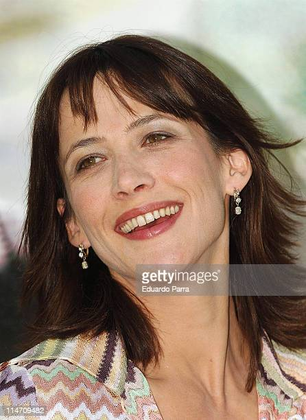 Sophie Marceau during Sophie Marceau Attends Photocall for 'Anthoy Zimmer's Secret' at Ritz Hotel in Madrid Spain