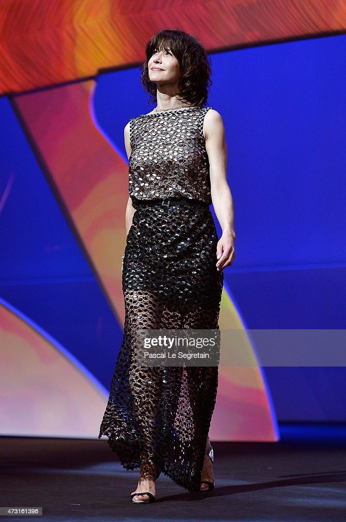 Sophie Marceau during the Opening Ceremony of the 68th annual Cannes Film Festival on May 13 2015 in Cannes France