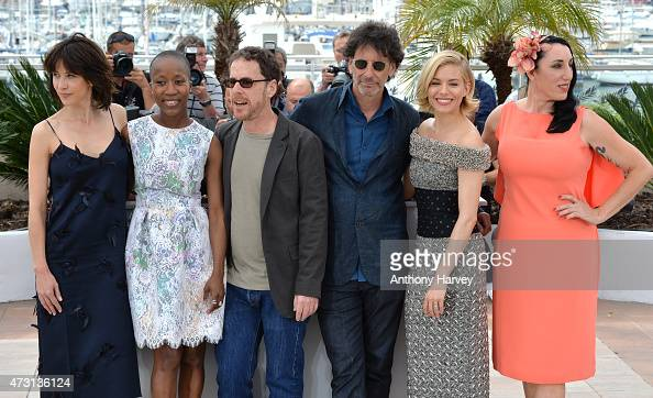 Sophie Marceau Rokia Traore Ethan Coen Joel Coen Sienna Miller and Rossy de Palma attendsthe Jury photocall during the 68th annual Cannes Film...