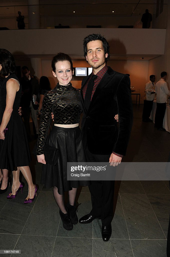 Sophie McShera and Rob James-Collier attend an evening with the cast and producers of PBS Masterpiece series 'Downton Abbey' hosted by Ralph Lauren & Graydon Carter on December 10, 2012 in New York City.