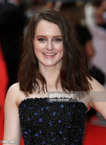 Sophie McShera attends as BAFTA celebrate 'Downton Abbey' at Richmond Theatre on August 11 2015 in Richmond England