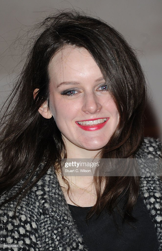 Sophie McShera attends the press night for 'The Book of Mormon' at Prince Of Wales Theatre on March 21, 2013 in London, England.