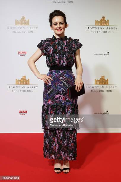 Sophie McShera poses for a photo during the Downtown Abbey The Exhibition Red Carpet at the Sands Expo and Convention Centre on June 21 2017 in...