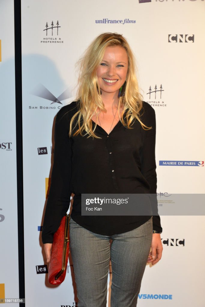 Sophie Meister attends 'Les Lumieres 2013' Cinema Awards 18th Ceremony at La Gaite Lyrique on January 18, 2013 in Paris, France.