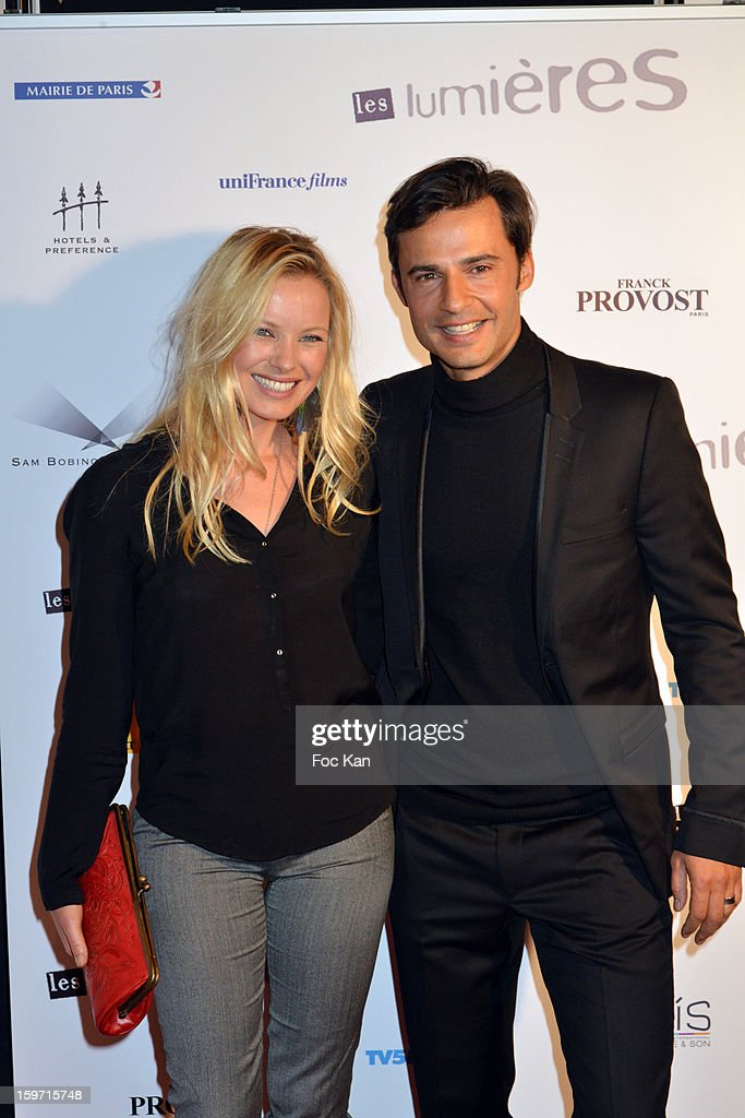 Sophie Meister, David Atrakchi attend 'Les Lumieres 2013' Cinema Awards 18th Ceremony at La Gaite Lyrique on January 18, 2013 in Paris, France.