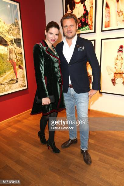 Sophie MeisterWepper and her husband David Meister during the 'Ellen von Unwerth HEIMAT' Exhibition Opening at Immagis Fine Art Photography gallery...