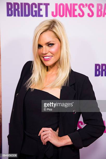 Sophie Monk attends the Australian screening of Bridget Jones Baby in Sydney Australia