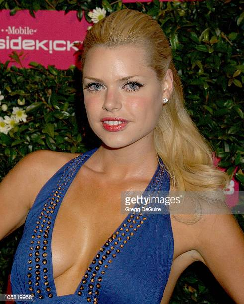 Sophie Monk during Debut Party for the TMobile Sidekick 3 Arrivals at Hollywood Palladium in Hollywood California United States