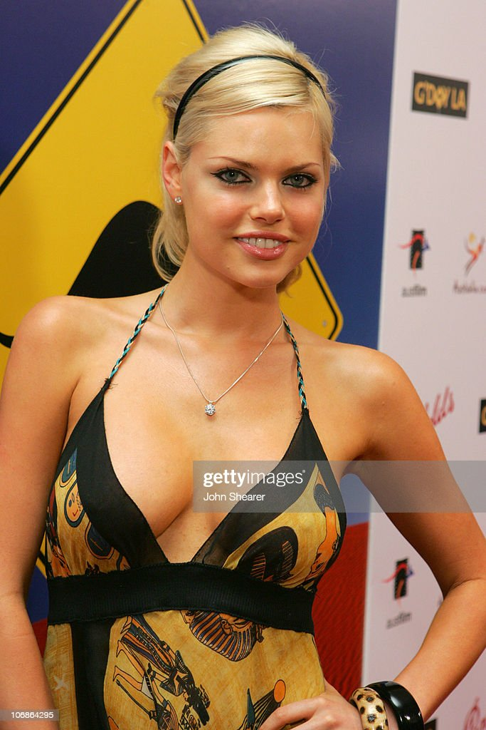 Sophie Monk during G'Day LA Australia Week 2006 Penfolds Icon Gala Dinner Red Carpet in Los Angeles California United States