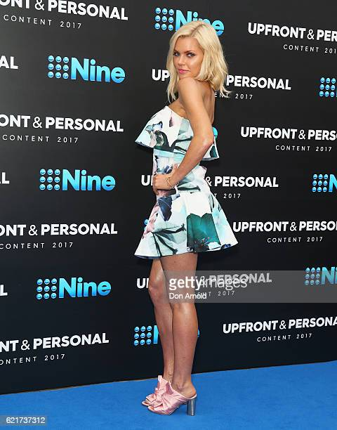 Sophie Monk poses during the Channel Nine Upfronts at The Star on November 8 2016 in Sydney Australia