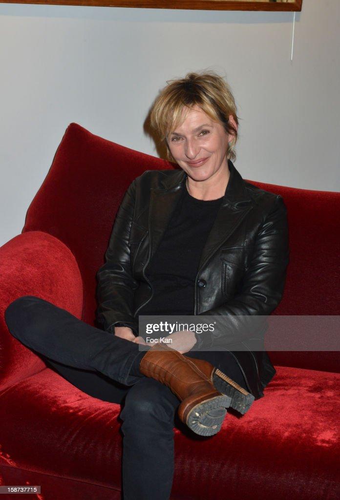 Sophie Mounicot attends the 'Par Amour' Paris Premiere at Studio 28 on December 26, 2012 in Paris, France.