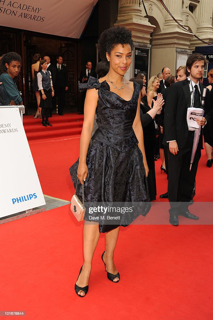 Sophie Okonedo arrives at the Philips British Academy Television Awards at the London Palladium on June 6, 2010 in London, England.