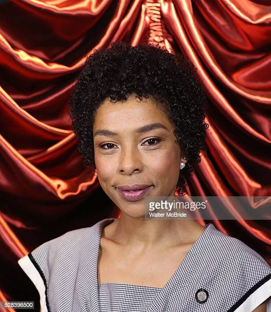 Sophie Okonedo during the 2016 Tony Awards Meet The Nominees Press Reception at the Paramount Hotel on May 4 2016 in New York City