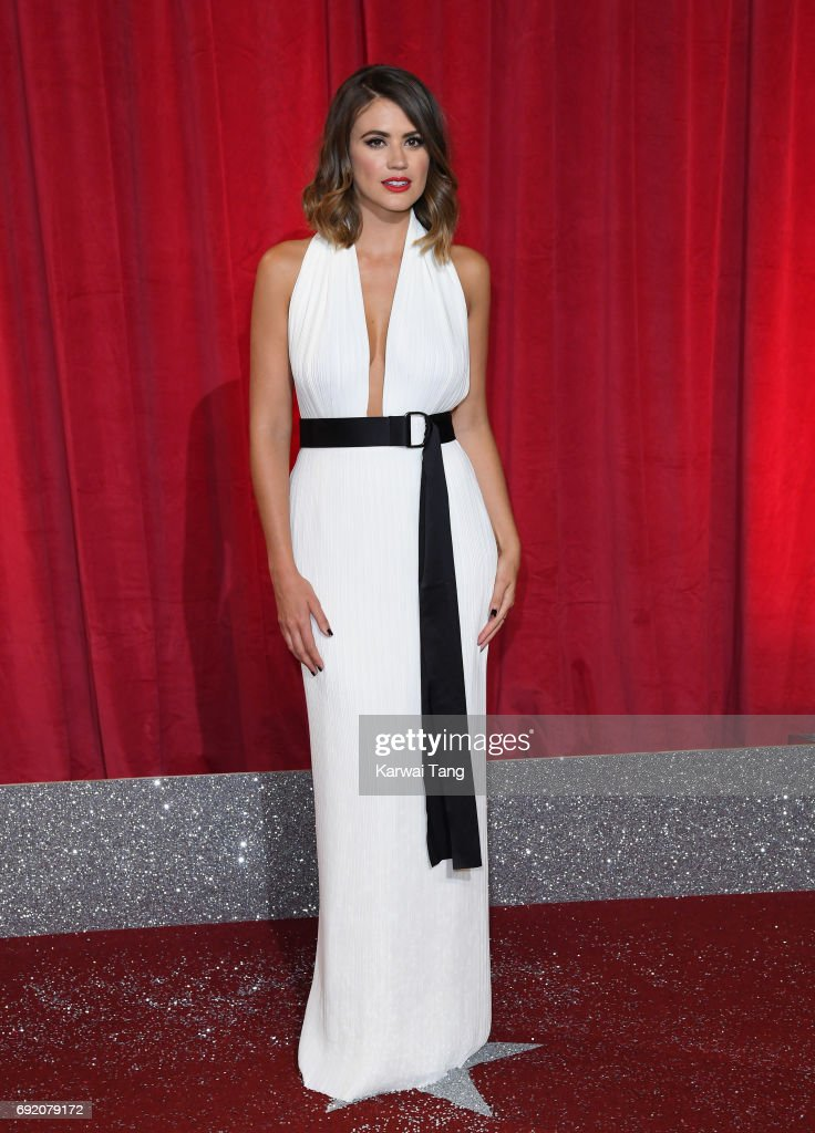 Sophie Porley attends the British Soap Awards at The Lowry Theatre on June 3, 2017 in Manchester, England.