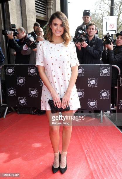 Sophie Porley attends the TRIC Awards 2017 at the Grosvenor House on March 14 2017 in London United Kingdom