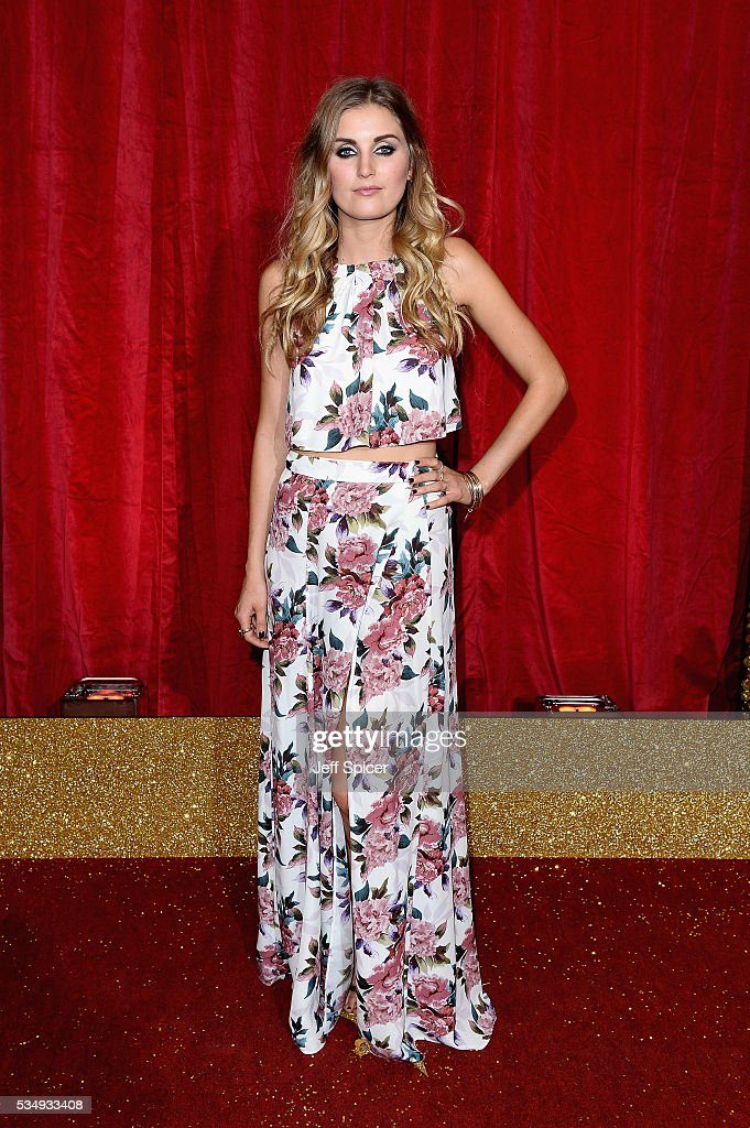 Sophie Powles attends the British Soap Awards 2016 at Hackney Empire on May 28, 2016 in London, England.