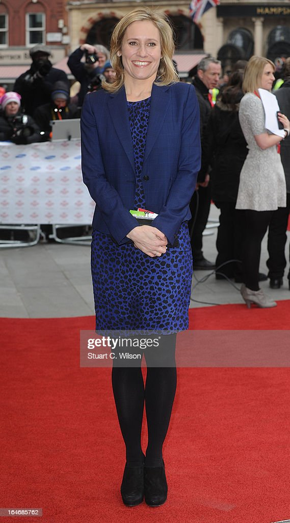 Sophie Raworth attends the Prince's Trust Celebrate Success Awards at Odeon Leicester Square on March 26, 2013 in London, England.