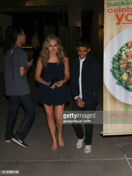 Sophie Reynolds and Karan Brar are seen on July 11 2017 in Los Angeles California